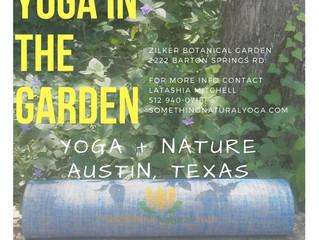 Yoga @  Zilker Botanical Garden