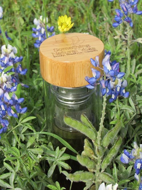 Fruit Filtered Texas Bamboo Water Bottle