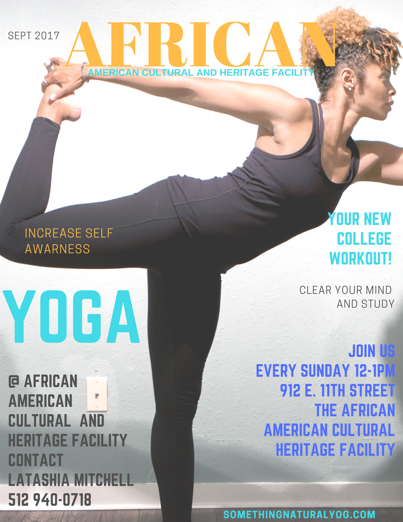 Yoga With Me ! The African American Cultural and Heritage Facility