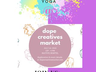 Yoga Boutique: Sunday July 14, 2019 12-4