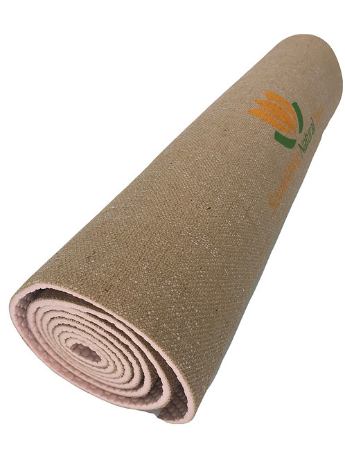 Eco-Friendly Texas Jute Yoga Mats (Khaki)