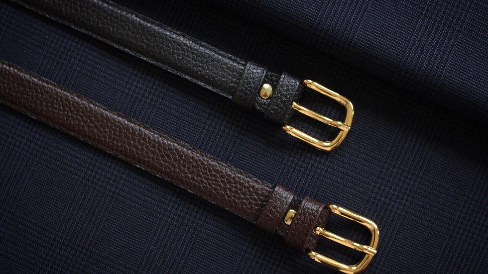 "1"" Dress Belt (Pebbled)"