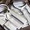 Thumbnail: Irregular Stripe Linen Shirting (1.8 meters)