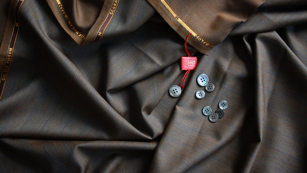 Vintage Solaro Suiting, Scabal Golden Ribbon (3.2 meters)