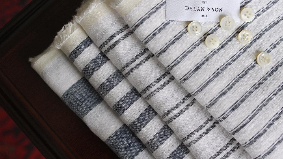 Stripe Linen Shirting (1.8 meters)