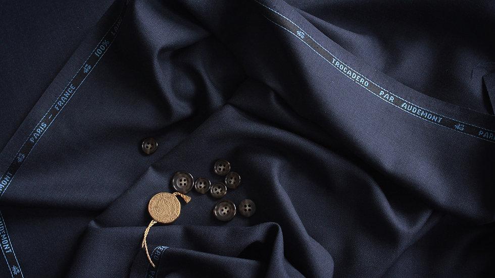 Vintage Plain Weave Suiting, Audemont (3.2 meters)