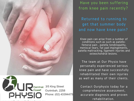 Any of these sound familiar? Contact Our Physio Central Coast for an assessment.