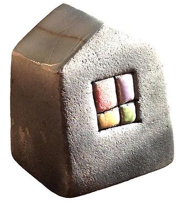 ceramica raku casine scultura