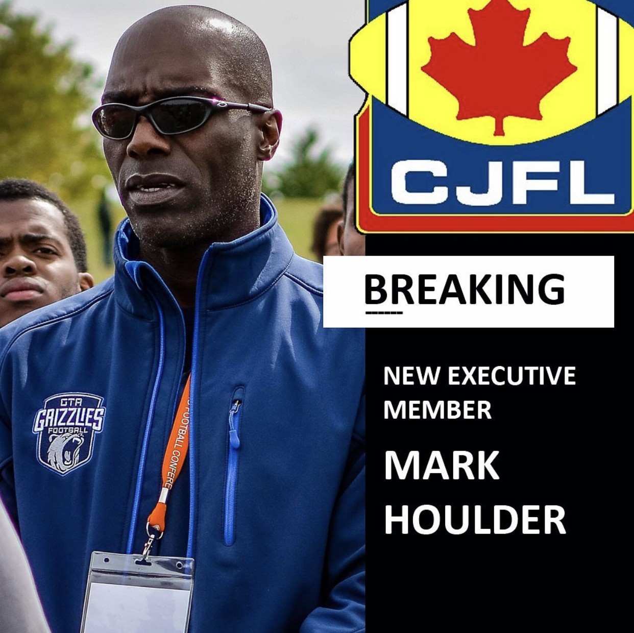 CONGRATULATIONS TO OUR COACH HOULDER!!