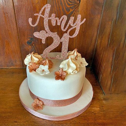 Flower Amy cake