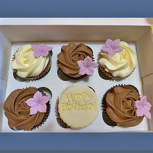 Basic Birthday Cup Cakes from £1.75