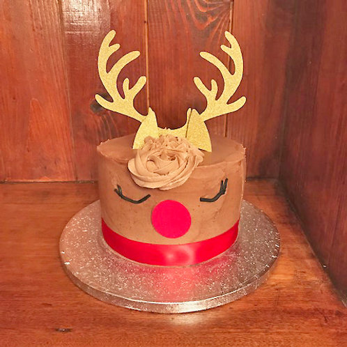 6 Inch Reindeer Cake from £18.00