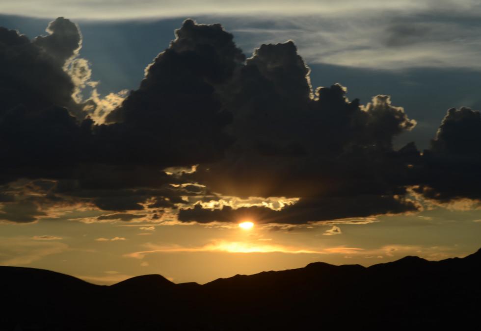 Tucson Mountain Sunset