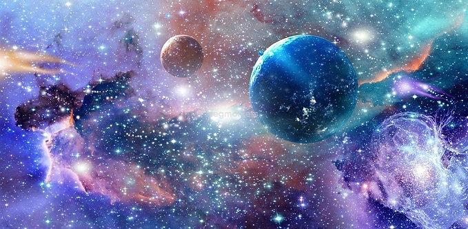 Фотообои. Фрески. Картины. Космос. Вселенная. Планеты. Звездное поле