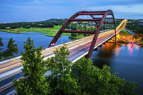 Пеннибакерский Мост в Остине - Техас