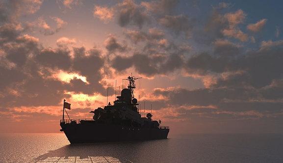 Военно-морское судно