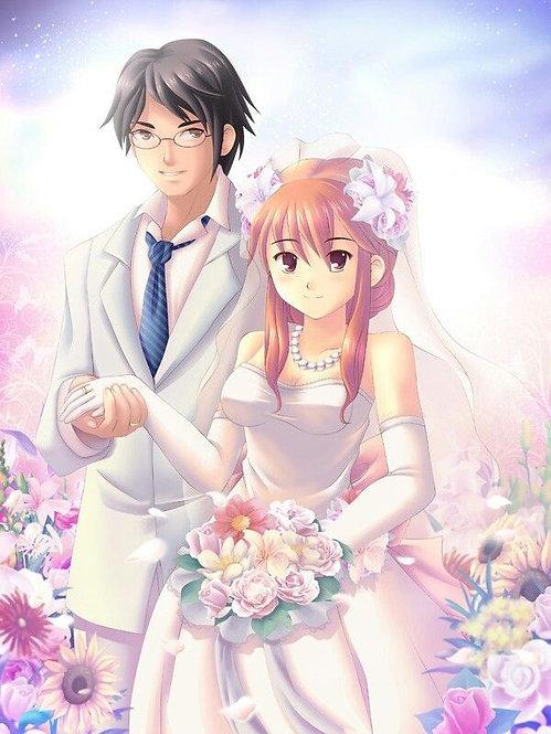 Анимэ - Белая свадьба