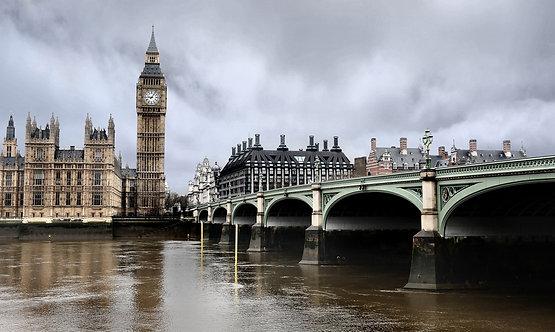 Вестминстерский мост и Биг-Бен в Лондоне