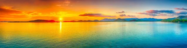 Восход солнца над морем | #129390128
