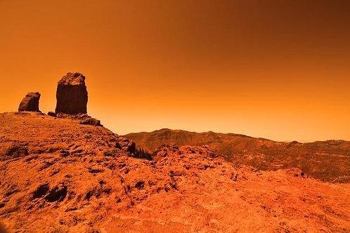 Фотообои. Фрески. Картины. Космос. Вселенная. Красная планета. Марс