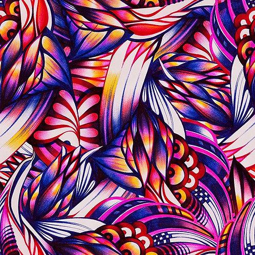 Абстрактный фон, нарисованный шариковой ручкой