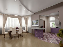 stretch-ceiling-dining-white-satin-two-l