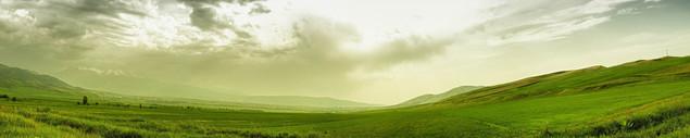 Панорамный горный пейзаж | #77725066