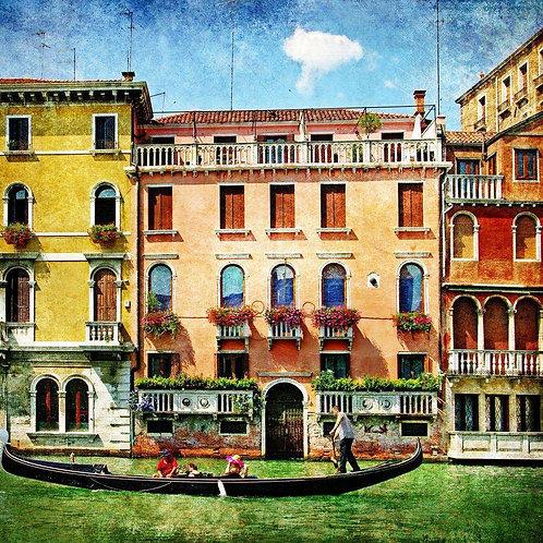Венеция в живописном стиле