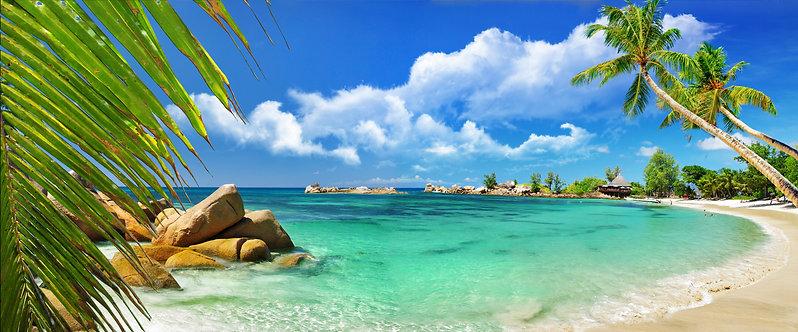 Красивая тропическая панорама Эль Нидо - Филиппины