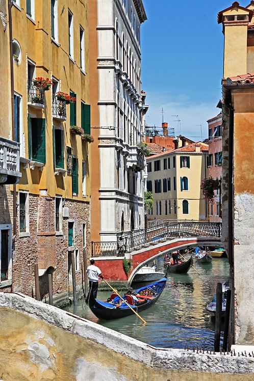 Романтические венецианские каналы