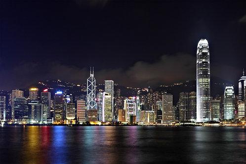 Ночь в Гонконге
