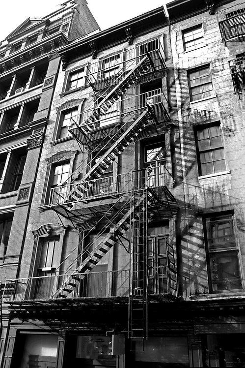 Старое городское здание в Нью-Йорке