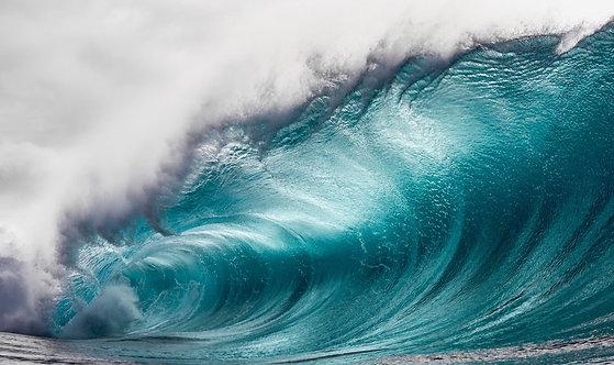 Большая голубая волна