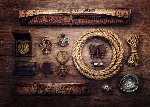 Морские карты и снаряжение для мореплавания