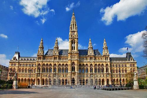 Венская ратуша в Австрии