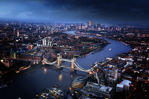 Вид на Лондон и Тауэрский мост