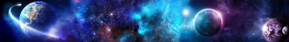 Фотообои. Фрески. Картины. Космос. Вселенная. Галактики. Планеты. Коллаж