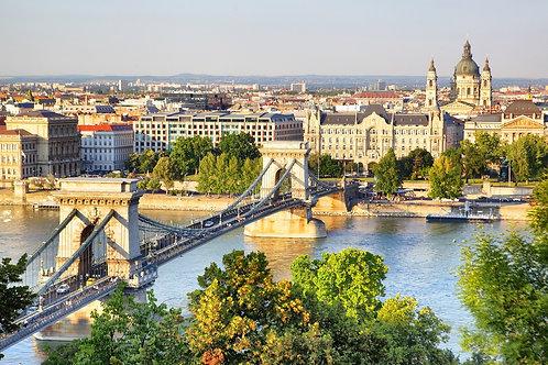 Панорамный вид на Будапешт