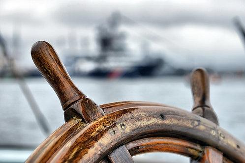 Штурвал парусного корабля