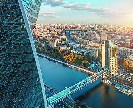 Московский международный бизнес-центр с башней Эволюция