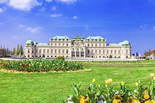 Бельведерский дворец в Вене - Австрия