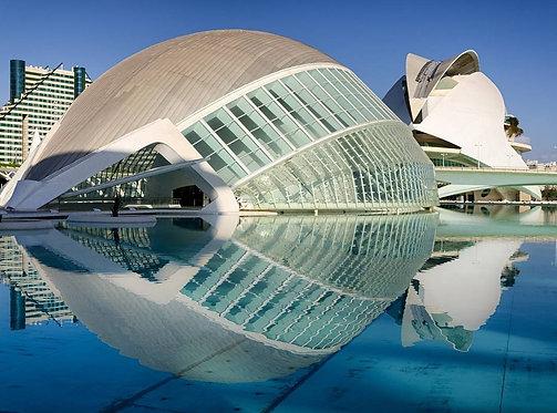 Океанографический аквариум в Валенсии - Испания