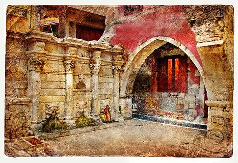 Венецианская арка на Крите - Греция