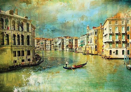 Венеция в стиле ретро