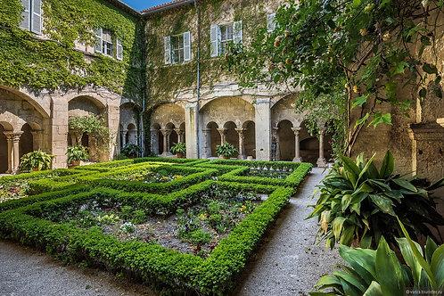 Фотообои. Фрески. Картины. Сады и парки. Замок в Сен-Реми-де-Прованс. Франция