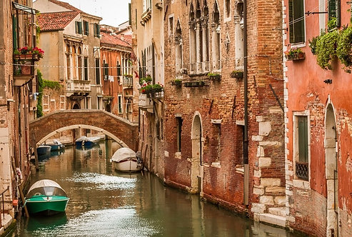 Дома на Гранд-канале в Венеции