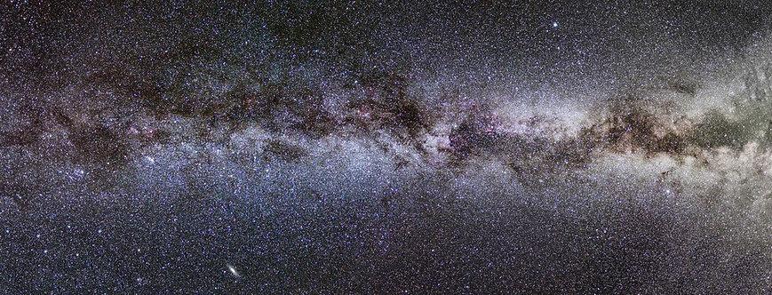Фотообои. Фрески. Картины. Космос. Галактики. Вселенная. Млечный путь. Панорама