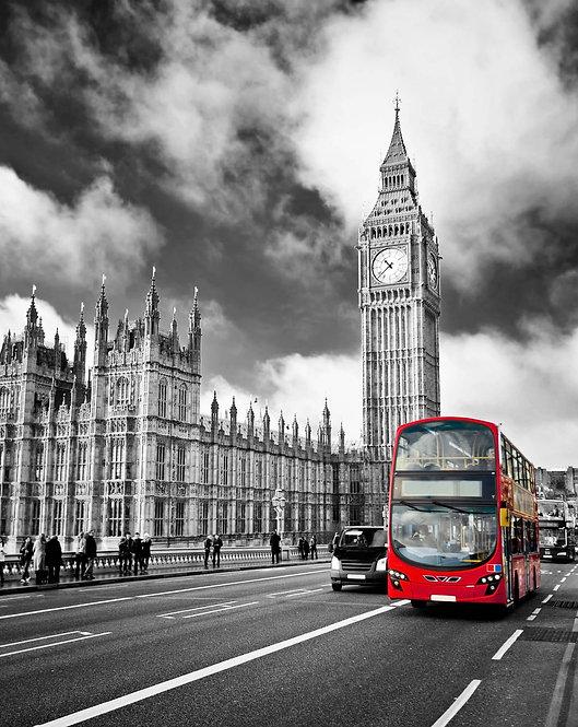 Дом Парламента и Вестминстерский мост в Лондоне