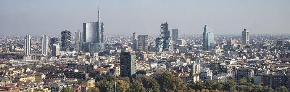 Панорама Милана