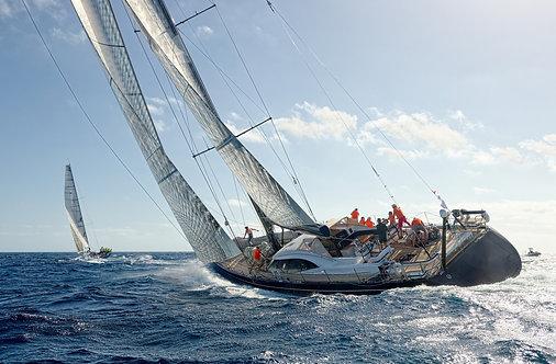 Гоночные парусные яхты